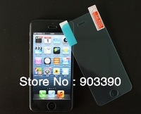 Hot selling! LCD best protector Premium Tempered Glass screen protector for APPLE iphone 5 50pcs/lots DHL free shipping