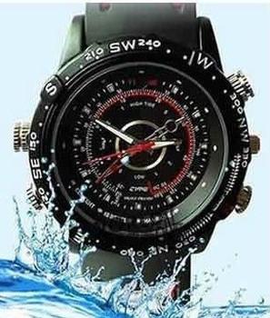 Free shipping ,5 PCS/LOT 8GB waterproof watch Camera 1280*960 MINI DV DVR with retail gift box