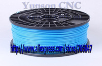 1 spool blue 1.75mm ABS filaments for Makerbot/Reprap/Mendel 3D printer