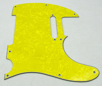 1 Speical Bright 1pcs Yellow Pearl Pickguard for Tele Style Guitar M465