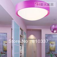 26cm Purple/Blue/Silver Brief modern personality bread balcony ceiling light lamp bedroom lighting droplight free shipping