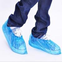 New Arrival Wholesale 1000pcs/lot Elastic Disposable Plastic Protective Shoe Covers Carpet Cleaning Overshoe