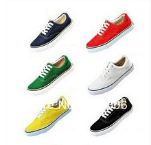 Hot sale With Box unisex NEW Men&amp;#39;s*Women&amp;#39;s Classic sports Canvas Breathable lace-up vanful shoes size EUR 35-45 Sneakers(China (Mainland))