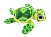 Free Shipping! 2013 New Arrival stuffed animals mini size turtle pendant Bag Key Small charms Plush Toy Decor for car baby gifts