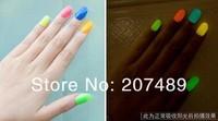20 Colors 7ML charm Fluorescent Neon Nail Art Polish Glow in Dark Nail Varnish Hot