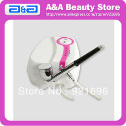 Makeup Airbrush Kit 1pc Mini Air Compressor+1pc Airbrush Nozzle Dia.:0.3-0.5mm Cup:7CC CE &amp; FCC Certified!(China (Mainland))