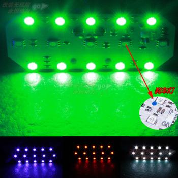 Refires motorcycle lamp brake lights line lights glare led 5050 brake lights tt15