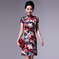 Colorink classical cheongsam summer fashion summer 2013 vintage cheongsam dress vintage g61559