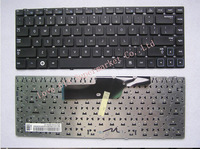 Free shipping laptop keyboard for samsung NP300E4A Series without frame Black US layout