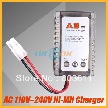 New AC 110-240V Regular Compact Balance Charger For 5-8cell NI-MH Battery