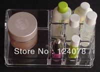 2 pcs SF-1032 Acrylic Crystal Cosmetic Organizer Makeup Case Holder Jewelry Storage Boxes Gift Box