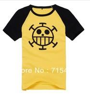 2013 New ONE PIECE Trafalgar Law Cosplay Short Sleeve Death Surgeon t -Shirt