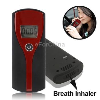 Alcohol Digital LCD Display Breath Analyzer Tester