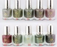 20 Colors 10ML metal shiny charm Neon Nail Art Polish Nail gel Varnish art decorations care beauty make up wholesale