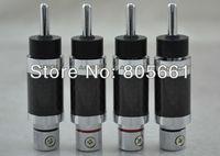 Hi End Audio Acrolink CF-202(R) Carbon Fiber  Rhodium plated Banan plug
