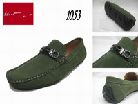 2013 New Men Flats Shoes Casual Business Loafers Shoes High Quality Genuine Leather Dress Shoes