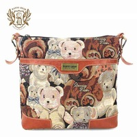 Cross body women handbag bags women 2013 branded brown shoulder bag fashion DANNY BEAR brand