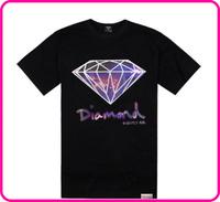 Stock Free Shipping men korean designer brand tshirt hip hop mens t shirt teenager short sleeves diamond t shirt as a gift tee
