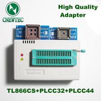 Free Shipping MiniPro TL866+PLCC32+PLCC44 Universal Programmer High Performance TL866cs Willem Bios Programmer