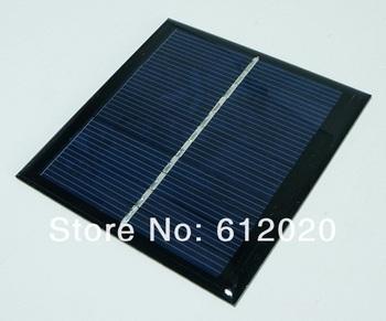 High Quality 1Watt  5.5V  Mini Solar Cell Solar Module Solar Panel Bolycrystalline Solar Cells  95*95*3 mm Free Shipping