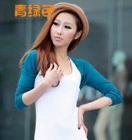 bolero shrug oversleeve raglan sleeve sunscreen arm cover fashion short vest coat