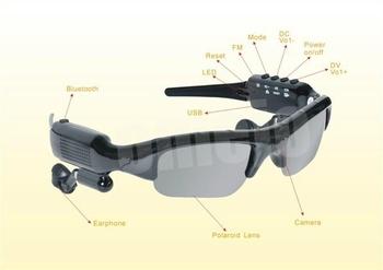 8Gb 5-in-1 Sunglasses camera +video +MP3+bluetooth+FM Radio Video Device