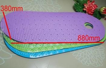 PVC Eco-Friendly non-slip Massage shower flooring mats shower room sauna swimming pool accessories  ww201