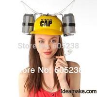 2 pieces / lot Beer Helmet Drinking Hat