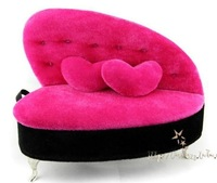 Free shipping Cosmetic Bag Case Cosmetic Box Make up case Cute gift cute piano Jewelry box