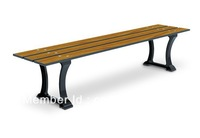 Park Bench without  back