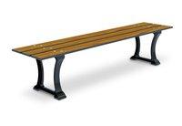 HM 400B-------3 SLATS Bench