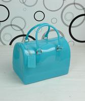 2013 women's handbag thickening silica gel translucent jelly bag for BOSS bucket handbag