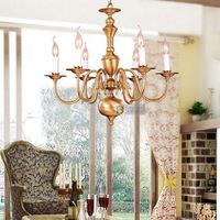 Light copper solder dining room pendant light study light bedroom lamps lighting fashion lamp stair lamp 0009 l6