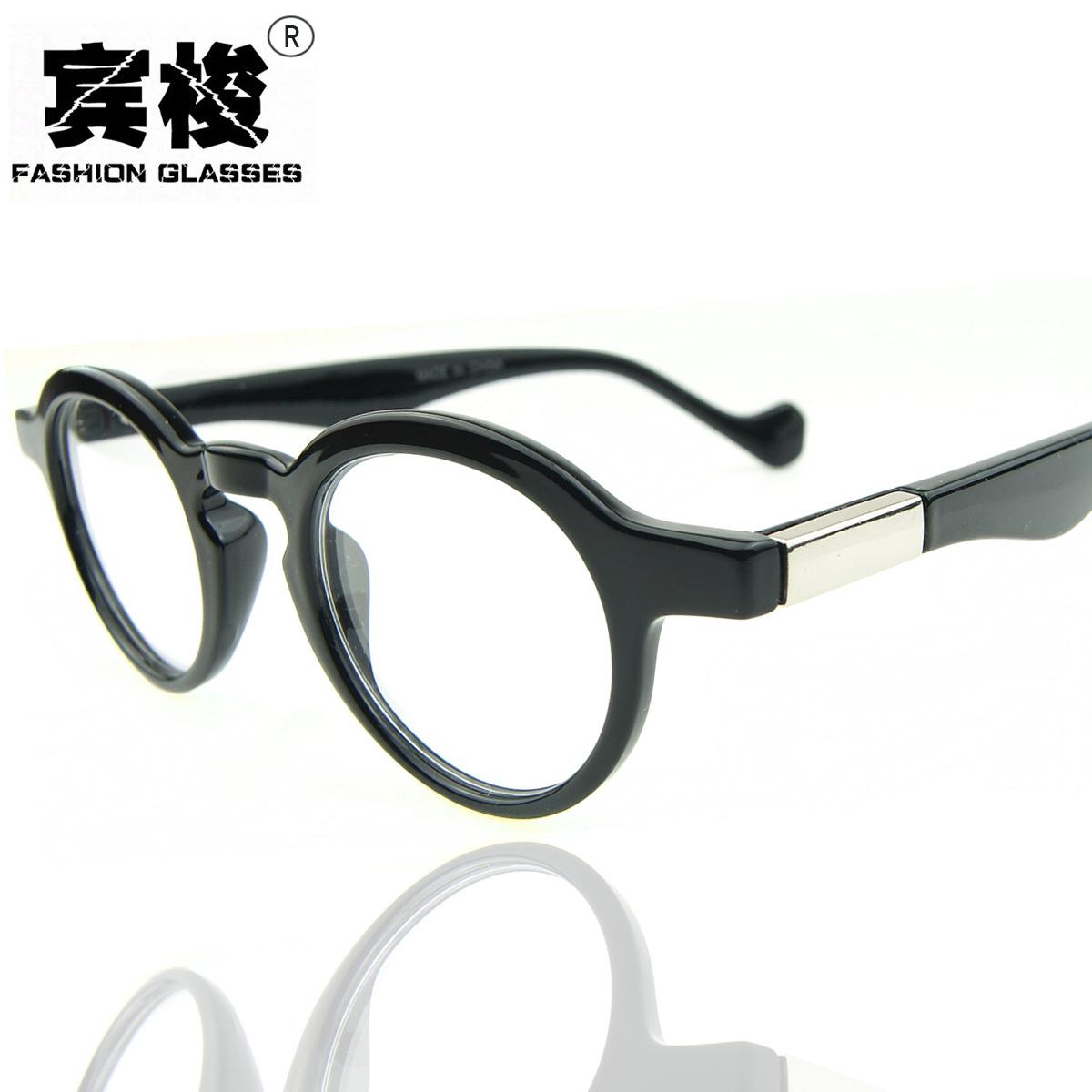 New arrival 2015glasses frame male female vintage circle myopia eyeglasses frame round box eye box non-mainstream(China (Mainland))