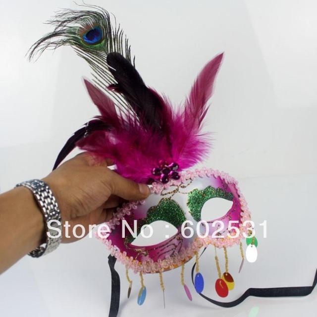 Frete Grátis- PLUM máscara veneziana de alta qualidade para venda 10pcs / lot mix -6 cor pode escolher(China (Mainland))