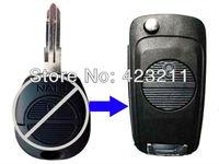Blank Flip Folding Remote Key Shell Case Upgrade For Nissan Massardi 2BT  FT0118