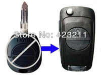 Blank Flip Folding Remote Key Shell Case Upgrade For Nissan Massardi 2BT  FT0118