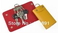 Free shipping 2013 Hot Sell PU key bag key case(10.5*6*1.5CM) On Sale