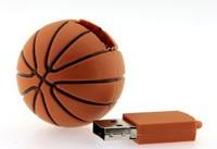 M-182 Wholesale Hot Cheap Enough Cartoon Basketball 4GB 8GB 16GB 32GB 64GB USB 2.0 Flash Memory Stick Drive Thumb/Car/Pen Gift