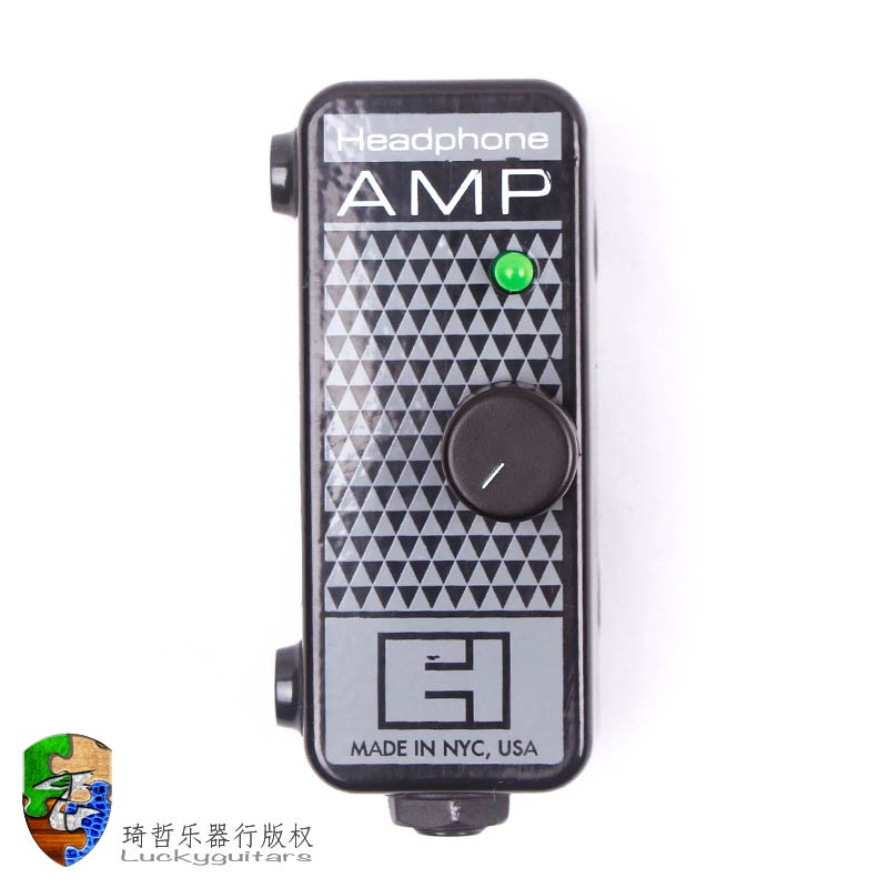 free shipping Eh headphone amp electric guitar portable mini box earphones stompbox(China (Mainland))