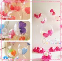 Large ball diy transparent ball wedding birthday decoration balloon game accessories toys wedding arch party minnie