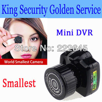 Smallest Mini Camera Camcorder Video DVR Hidden Camera Web Cam Recorder Black