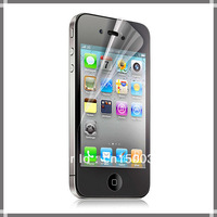 1000sets/lot clear guard film for iPhone 4 4S 4G screen protector super wholesale
