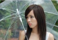 RETAIL TOP GOOD Hot sale Candy color transparent umbrella/long handled dance beautiful umbrella sun protection /RAIN umbrella