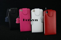 Retail Luxury For iPhone5 Case Genuine Leather Cover Case For iPhone 5 FREE SHIPPING