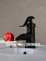 Classic Black Tap Kitchen Sink Bathroom Basin Mixer Faucet Oil Rubbed Brass Vanity Faucet L-1614