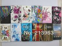 Sample Retail TPU Flower Case For LG L5 , Rainbow Jellyfish Zebra Pattern Soft Silicon Back Cov er For LG E610 Optimus L5
