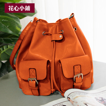 2013 new original designer High quality Brand all-match women's handbag fashion vintage bucket bag messenger bag