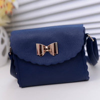 2013 spring and summer vintage laciness small fresh bow small bag  women's handbag  ,free shipping