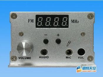 NEW DC 9-15V 7w FM PLL LCD stereo transmitter Radio Station